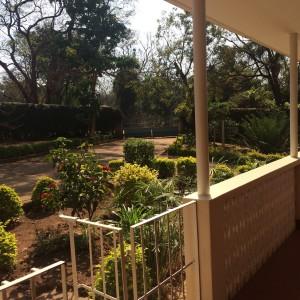 Utsikten når jeg står opp og går ut på balkongen!