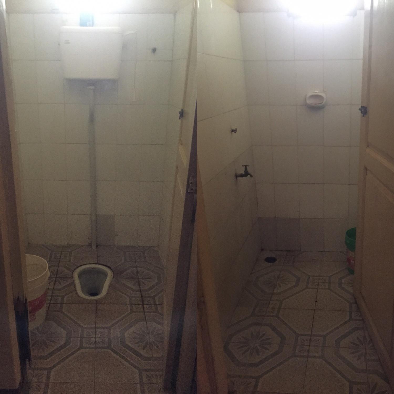Toalettet og badet
