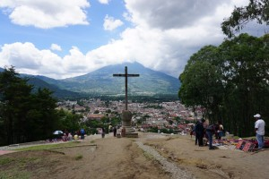 Cerro de la Cruz. Herfra kan du se utover hele Antigua