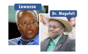 Loweassa for Chadema og Magufuli for CCM